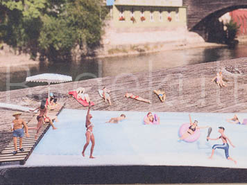 Postkarte Limmatbaden