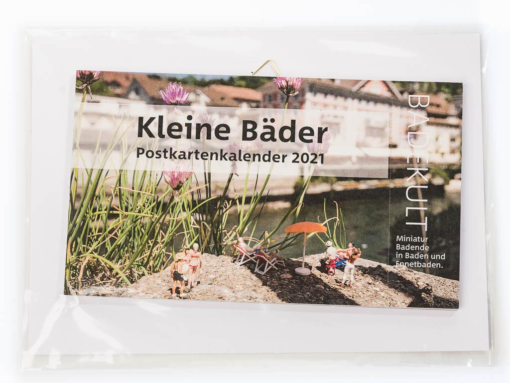 Kleine Bäder Postkartenkalender 2021