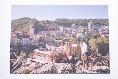 Postkarte Schartenfels