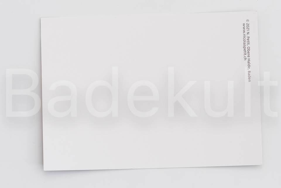 Postkarte Baden obere Halde