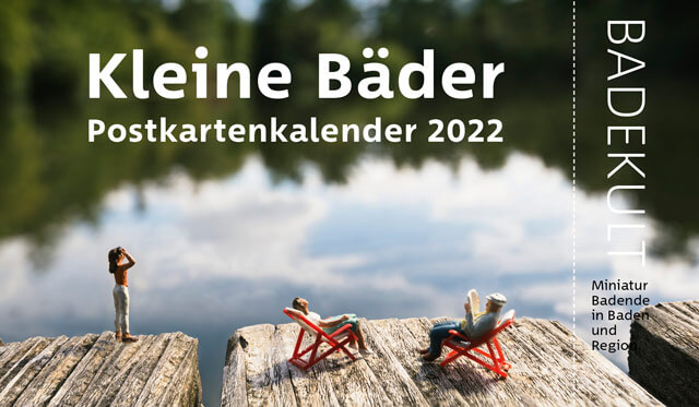 Kleine Bäder Postkartenkalender 2022